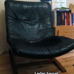 Westnofa Ingmar Relling Ledersessel Lounge Chair – 3 Stück