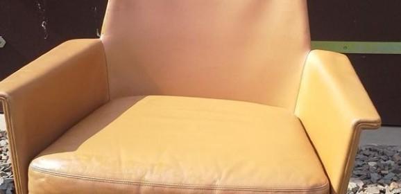 Cor Sedia Horst Brüning Ledersessel Dining Chairs – 9 Stück