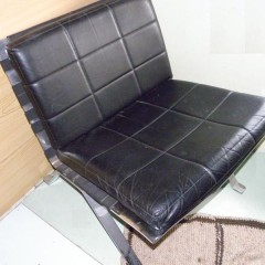 Girsberger Eurochair 1600 Lounge Chair Ledersessel – 4 Stück