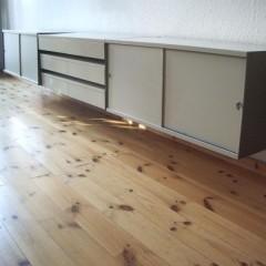 Sideboard Wandregal Hanging Board Dieter Rams Vitsoe SDR 606 – zu verschenken!