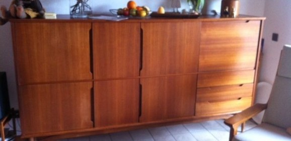 Danish Design Highboard Sideboard Denmark 60er Jahre Teak