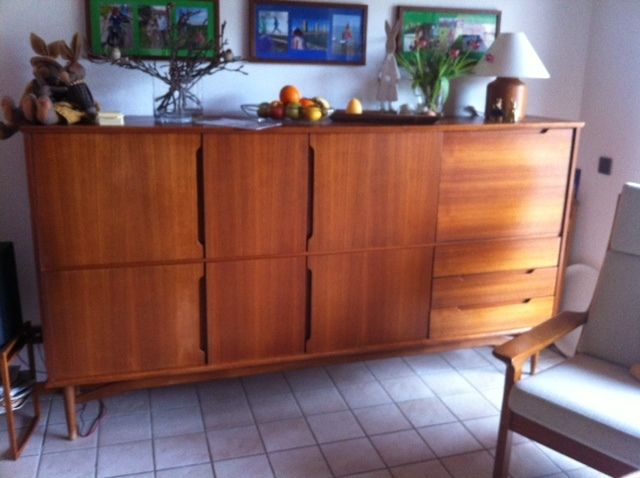 danish design highboard sideboard denmark 60er jahre teak ebay kleinanzeigen mit stil ebay. Black Bedroom Furniture Sets. Home Design Ideas