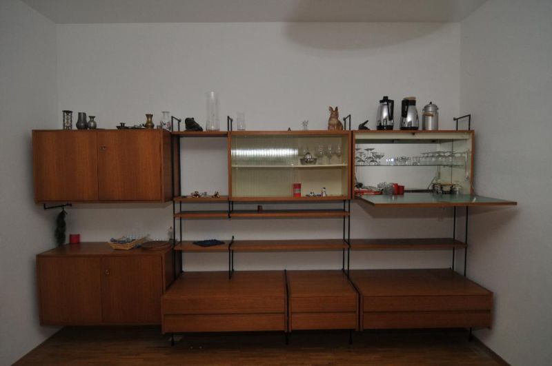 omnia wall unit regal im stil von nisse strinning string. Black Bedroom Furniture Sets. Home Design Ideas