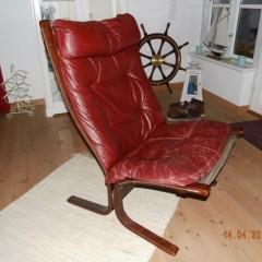 Ingmar Relling Siesta Chair für Westnofa Norway 70er Ledersessel – 2 Stück