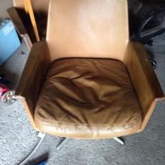 Cor Sedia Horst Brüning Ledersessel Easy Chairs – 2 Stück