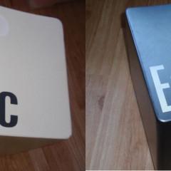 Hocker ESC und Hocker Enter Computertasten Kubus