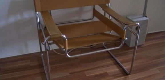 Knoll International Wassily Chair Marcel Breuer Bauhaus Freischwinger