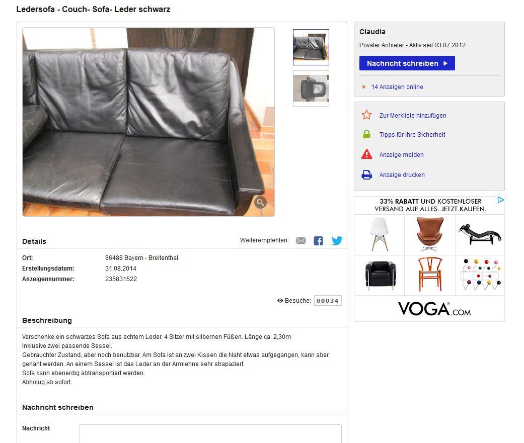 ebay anzeige aufgeben kostenlos