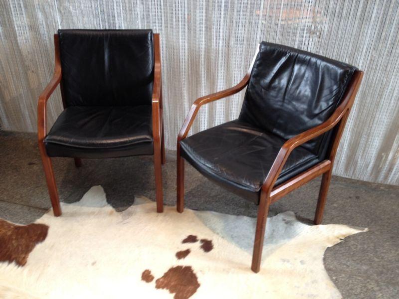 Zwei walter knoll art collection konferenzst 252 hle lederst 252 hle ebay