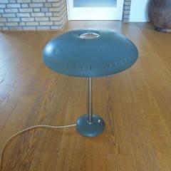 Tischleuchte Louis Kalff für Philips 50er Bauhaus Vintage Lampe