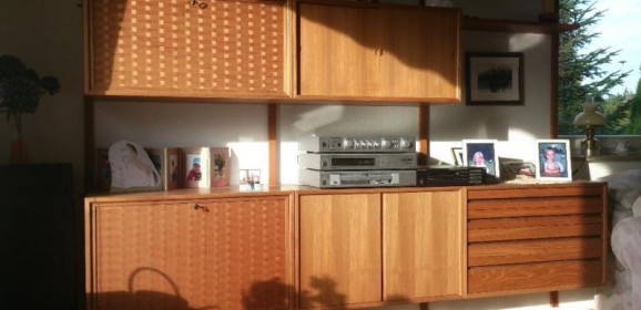 Poul Cadovius Cado Royal System Wall Unit Danish Design 50er 60er Wandregal