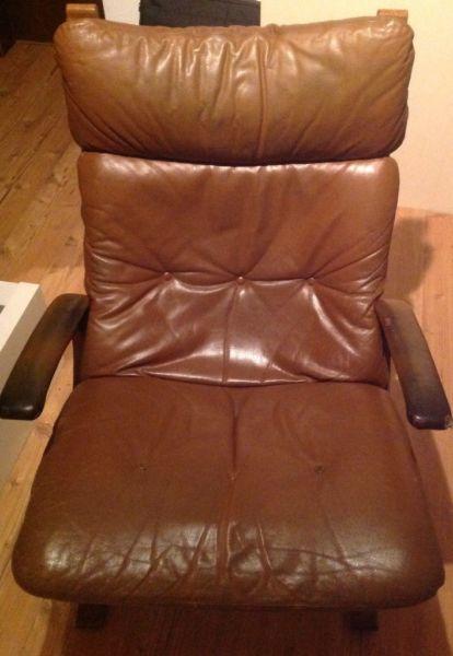 diverse skandinavische vintage ledersessel westnofa rykken dux ebay kleinanzeigen mit stil. Black Bedroom Furniture Sets. Home Design Ideas