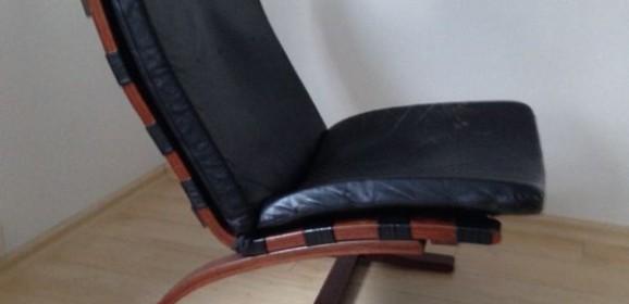 Diverse skandinavische Vintage-Ledersessel – Westnofa, Rykken, Dux