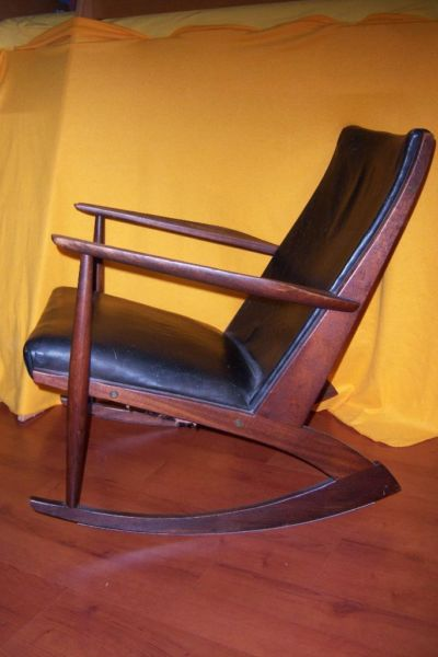 s ren georg jensen f r t nder m belv rk schaukelstuhl rocking chair 60er danish design ebay. Black Bedroom Furniture Sets. Home Design Ideas