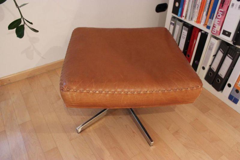 De Sede Ottomane Lederhocker Für Ds 31 Lounge Chair In