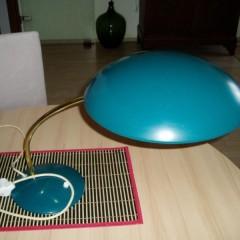 Kaiser Idell Modell 6781 Design von Christian Dell Tischlampe Bordlampe türkis