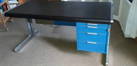 Vintage Schreibtisch 60er 70er Jahre Herman Miller Knoll International Warren Plattner Stil