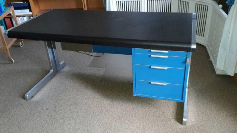 warren plattner style desk herman miller vintage schreibtisch design eames gebraucht kaufen - Herman Miller Schreibtisch