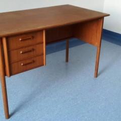 50er Jahre Schreibtisch Desk Teak Danish Modern Design Arne Vodder Børge Mogensen Stil