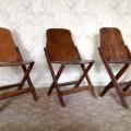 vier armlehnenst hle von erich dieckmann f r gelenka 30er. Black Bedroom Furniture Sets. Home Design Ideas