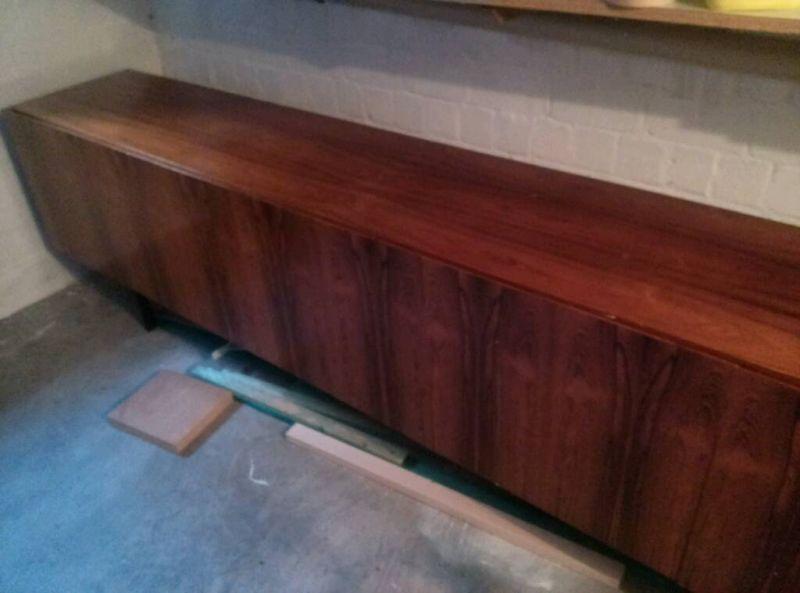 Minimalistisches palisander sideboard anrichte kommode for Sideboard 3 meter lang
