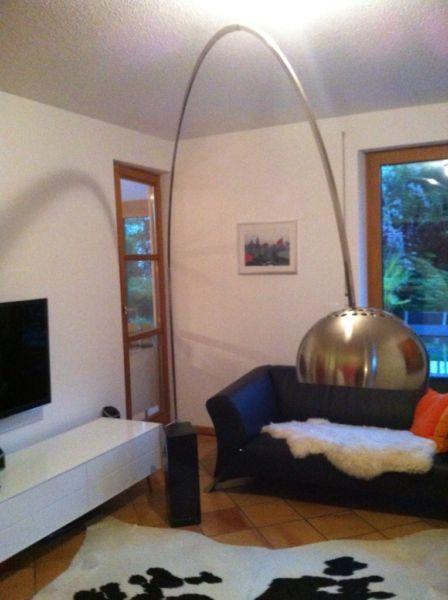 achille castiglioni und pier giacomo castiglioni f r flos arco bogenlampe bogenleuchte 60er 70er. Black Bedroom Furniture Sets. Home Design Ideas
