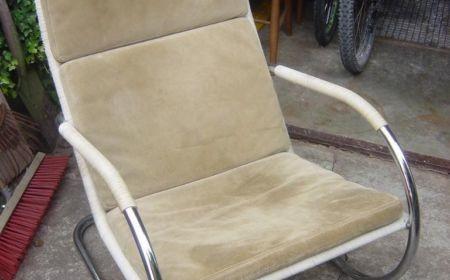 Anton Lorenz für TECTA D35 Lounge Chair Freischwinger Kragsessel Bauhaus 30er 70er