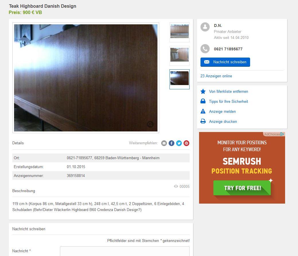 Schlafzimmer Hlsta Gebraucht Anrichte Wohnzimmer Kommode Antik Wheel Highboard