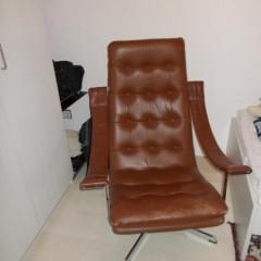 Geoffrey Harcourt für Artifort Lounge Chair Ledersessel 60er 70er Vintage