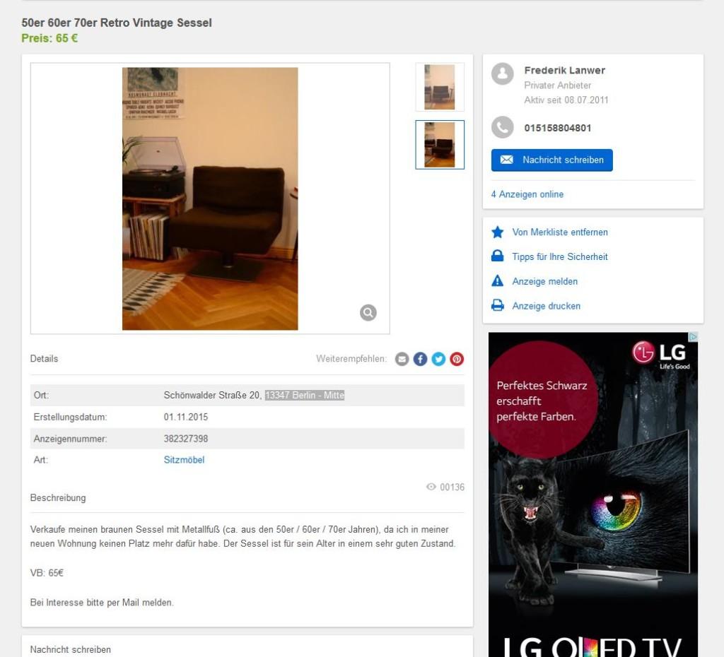 herbert hirche sessel system 350 f r mauser germany 70er. Black Bedroom Furniture Sets. Home Design Ideas
