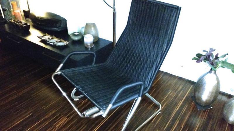 Tecta d36 lounge chair freischwinger schwebesessel for Designer schwingstuhl