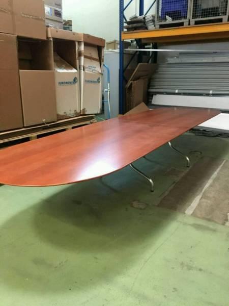 Konferneztisch Charles Eames Style Vitra Herman Miller Segmented Table Designtisch groß