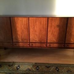 Sideboard Anrichte Kommode Palisander 60er 70er Jahre Midcentury Modern Vintage Design