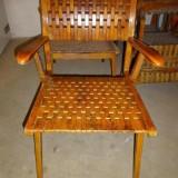 Vier Armlehnenstühle von Erich Dieckmann für Gelenka 30er 40er Bauhaus Design
