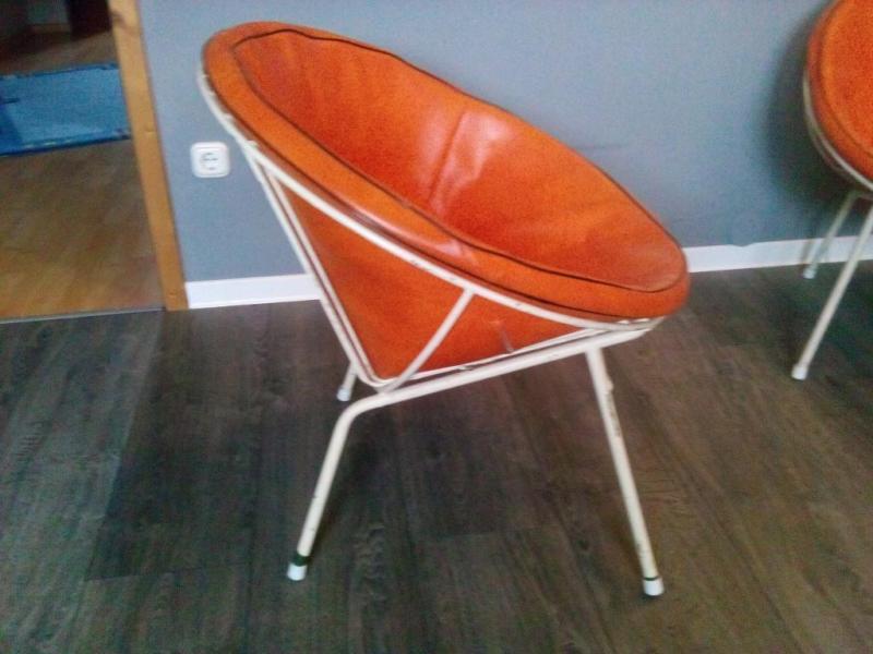 Berotia Style Wire Chair Drahtsesel Ledersessel VIntage Design modern gebrauchter Designersessel 60er Retro