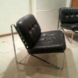 Zwei Hartmut Lohmeyer Easy Chairs für Mauser Waldeck Ledersessel 60er 70er