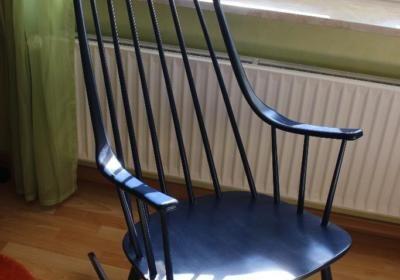 Schaukelstuhl Lena Larsson für Nesto Grandessa Rocking Chair Midcentury Modern