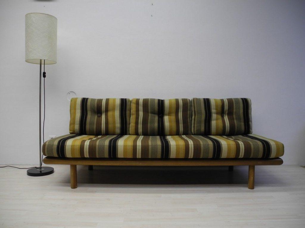 Daybed sofa modell 6603 franz k ttgen f r kill for Sofa 60er gebraucht