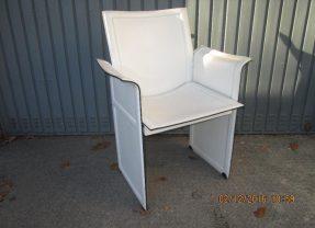 Zwei Korium Sessel Lederstühle von Tito Agnoli für Matteo Grassi 70er Vintage