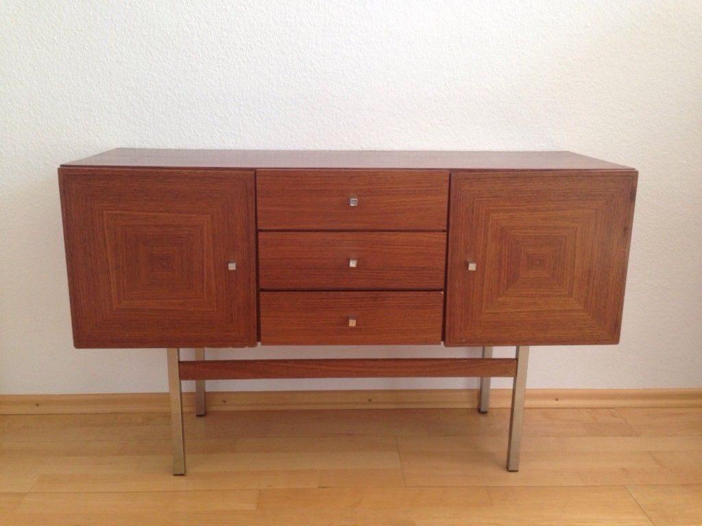 Musterring Vintage Design Sideboard 60er 70er Mid Century Modern klassiker credenza Kommode