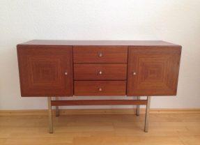 Kleines Vintage Sideboard 60er 70er Jahre Mid Century Modern Design Kommode