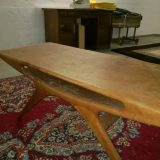 Johannes Andersen Smile Coffee Table CFC Silkeborg Danish Design